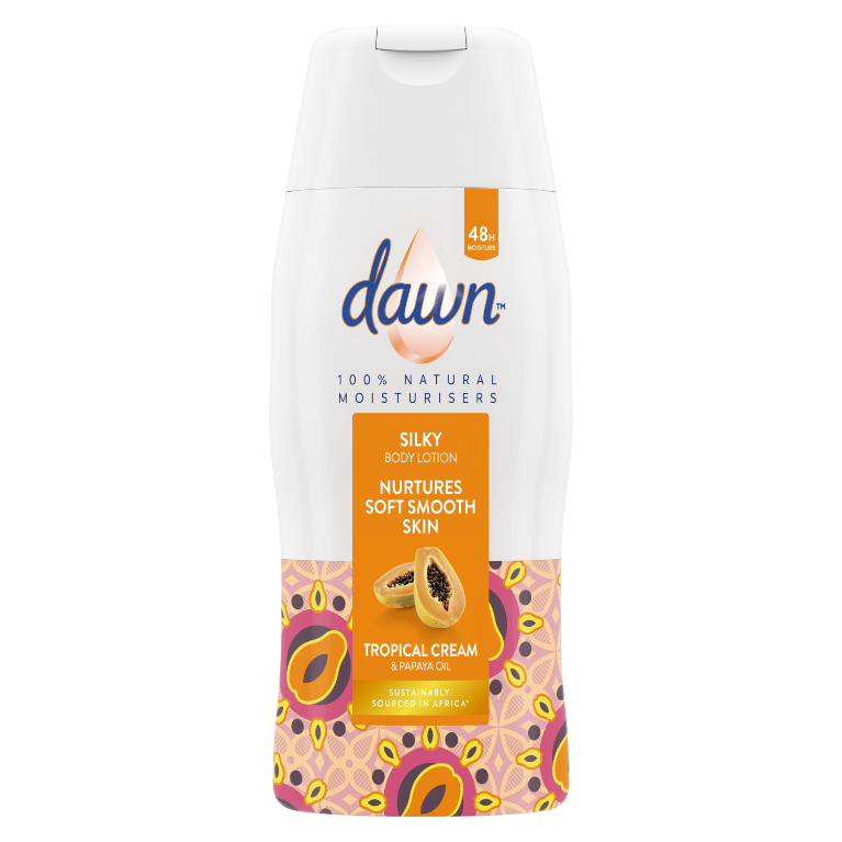 Dawn Tropical Cream & Papaya Oil Body Lotion 200ml