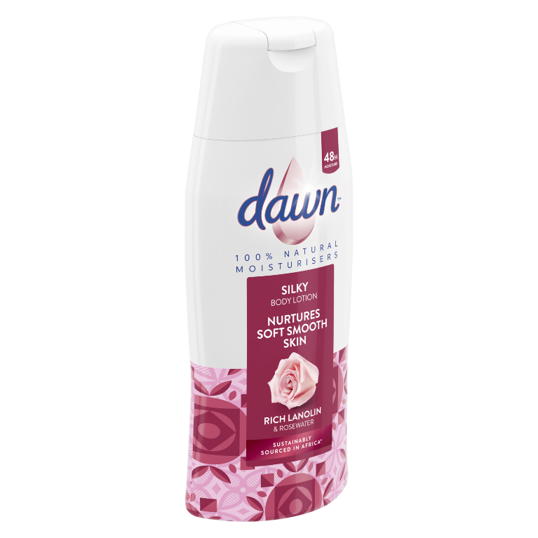 Dawn Rich Lanolin and Rose Water Silky Body Lotion 400ml