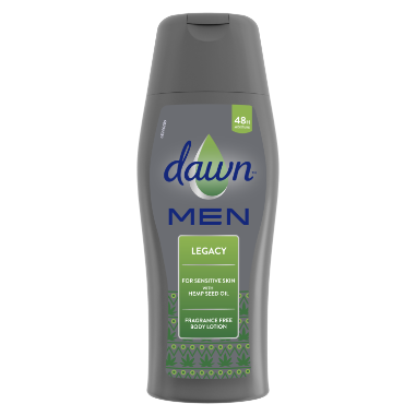 Dawn Men Legacy Fragrance Free Body Lotion