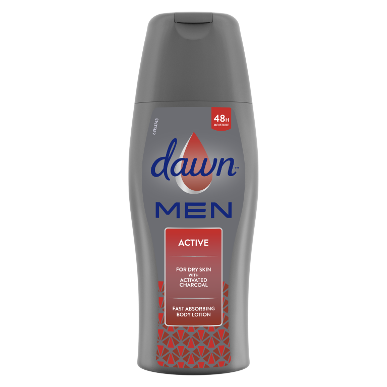 Dawn Men Active Fast Absorbing Body Lotion 200ml