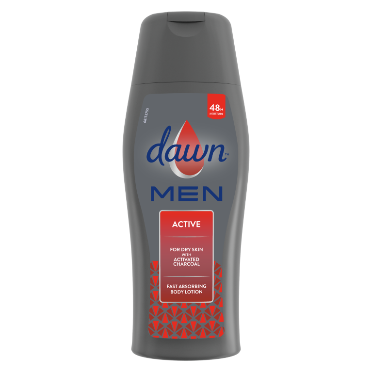 Dawn Men Active Fast Absorbing Body Lotion 400ml